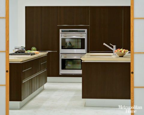 Snaidero S Sleek Idea Kitchen By Ferrari Designer Pininfarina Offers Ergonomic Handle Free Cabinets That Present A Smooth Flush Front