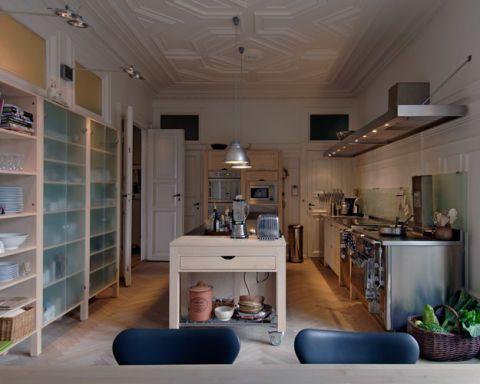 Luxury Kitchen Designs: The Freestanding Kitchen