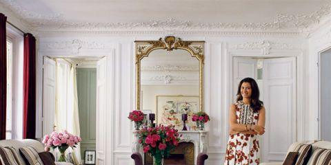 A Paris Designer's Artful Lair