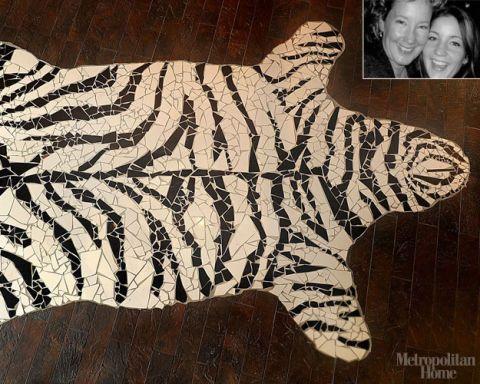 12: Zebra Mosaic Honorable Mention, Hawley McLean Haleblian