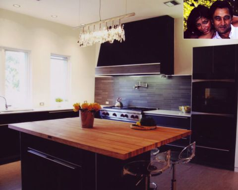 2nd Honorable Mention: Huma and Afzal Sulaiman's Kitchen; Dallas, Texas