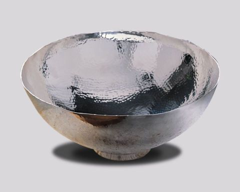 Hammered-Silver