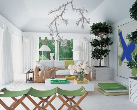 Delphine and Reed Krakoff's Poolhouse