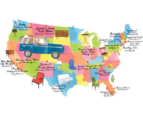 Spencer's Favorite Flea Markets and Thrift Shops Around the Country