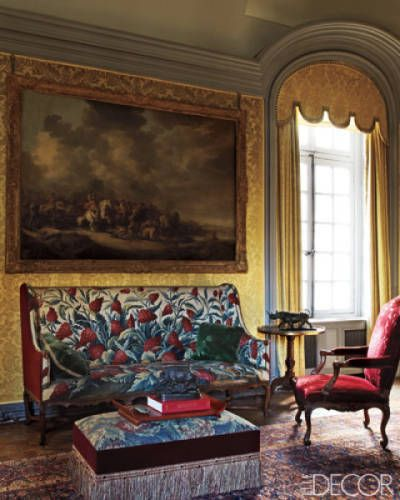 Red, White, And Blue Rooms - Bright Rooms