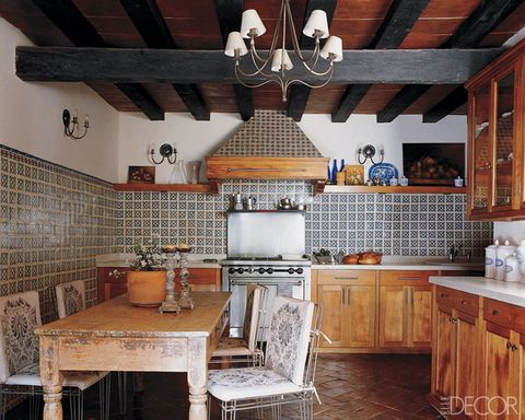 rustic kitchens - Country Kitchen Decor