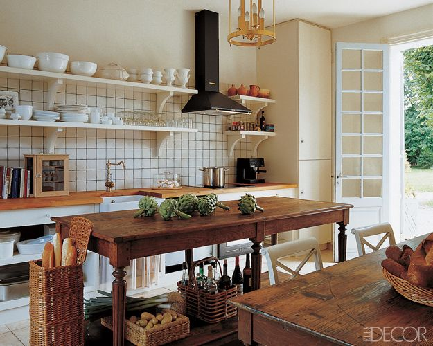 20 rustic kitchen decor ideas country kitchens design - Country Kitchen Design
