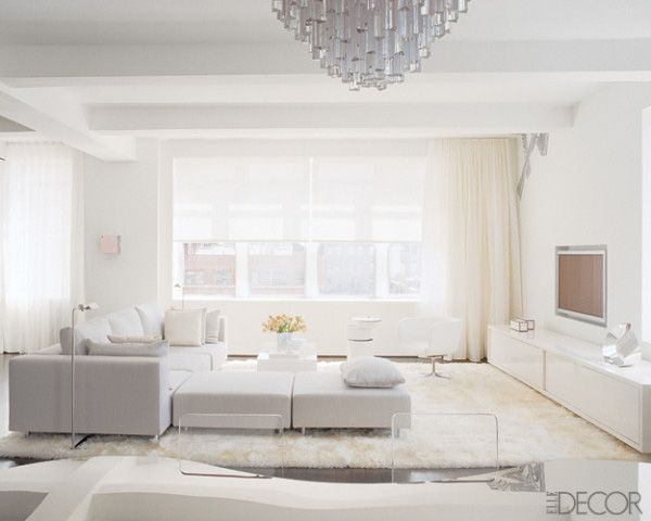 White Living Room Entrancing White Living Rooms Decorating Design