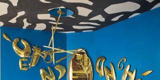 Blue, Yellow, Font, Electric blue, Majorelle blue, Azure, Cobalt blue, Metal, Aqua, Graphic design,