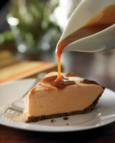 Diana Worthington's Pumpkin-Caramel Ice Cream Pie