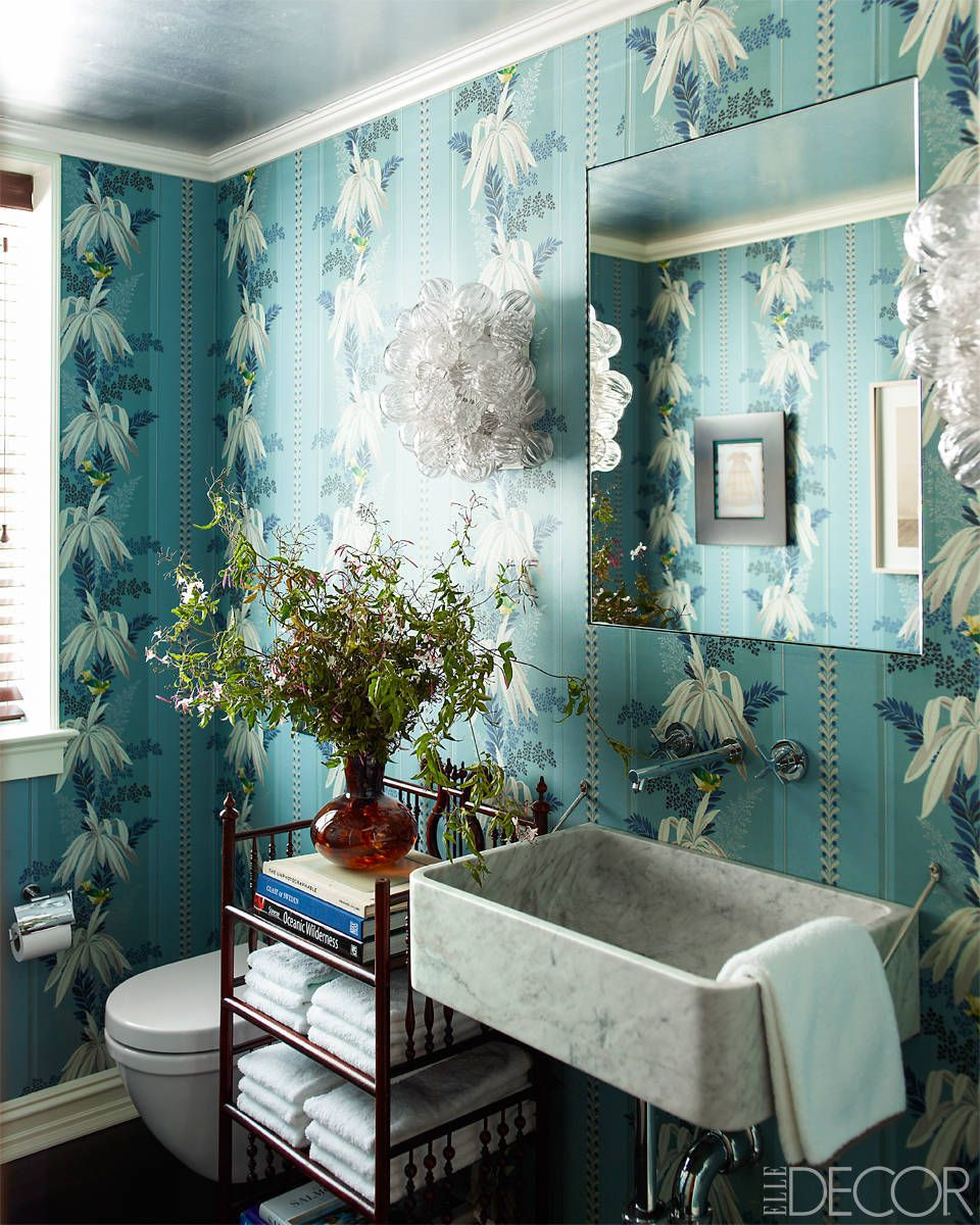 Best Bathroom Wallpaper Ideas - 5 Beautiful Bathroom Wall Coverings