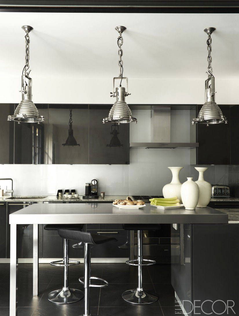 Design White And Black Kitchens 20 black and white kitchen design decor ideas