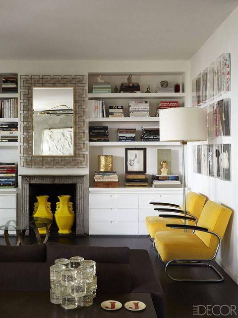 Interior design, Room, Wall, Shelving, Couch, Interior design, Home, Ceiling, Shelf, Living room,