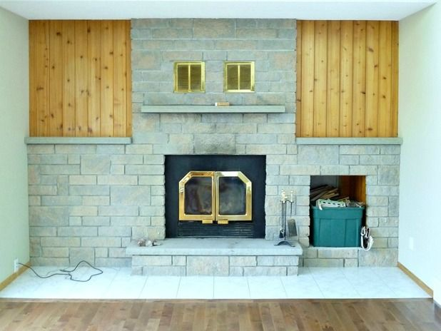 Before & After: This Dramatic Fireplace Makeover Only Cost $60