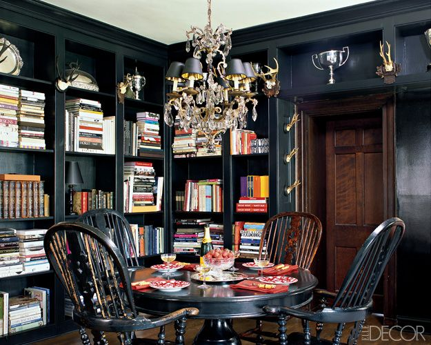 30 Black Room Design Ideas