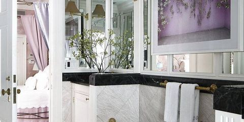 Floor, Interior design, Room, Architecture, Flooring, Property, Plumbing fixture, Tile, Wall, Glass,