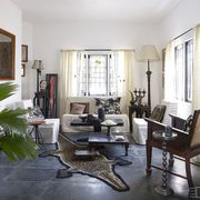 Floor, Interior design, Room, Flooring, Flowerpot, Wall, Furniture, Interior design, Living room, House,