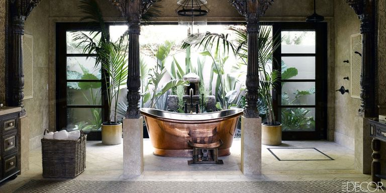 12 of the most beautiful rooms in los angeles for Waterworks copper tub