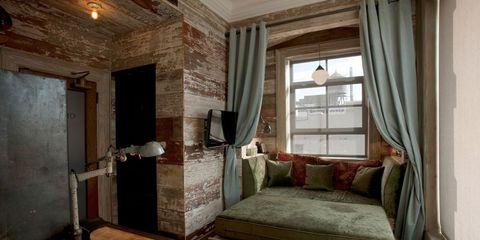 Wood, Room, Floor, Brown, Interior design, Flooring, Property, Hardwood, Textile, Wall,