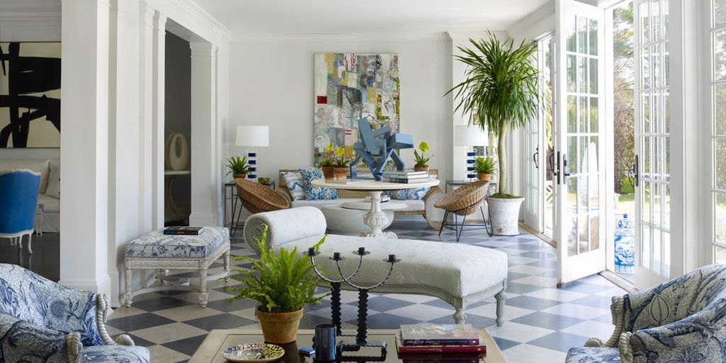 Bon She May Work With The Top Talents In Design, But ELLE DECOR Contributing  Editor Cynthia Frank Takes A Surprisingly Relaxed Approach To Her Own Home  In ...