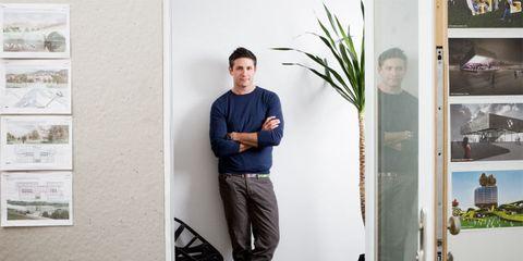 Suit trousers, Home door,