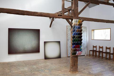 Wood, Floor, Flooring, Hardwood, Visual arts, Wood stain, Modern art, Daylighting,