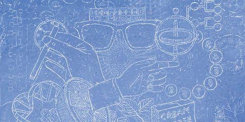 Majorelle blue, Electric blue, Circle, Handwriting, Blackboard, Chalk, Drawing, Writing,