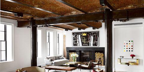 Wood, Floor, Room, Interior design, Brown, Lighting, Flooring, Hardwood, Property, Living room,