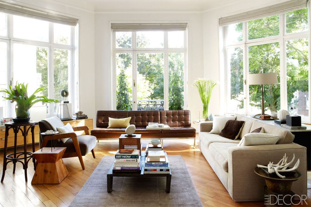 The eclectic house in Brussels