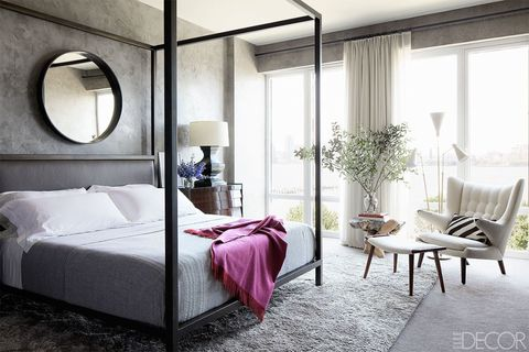 Bed, Room, Lighting, Interior design, Floor, Architecture, Property, Wall, Textile, Bedding,