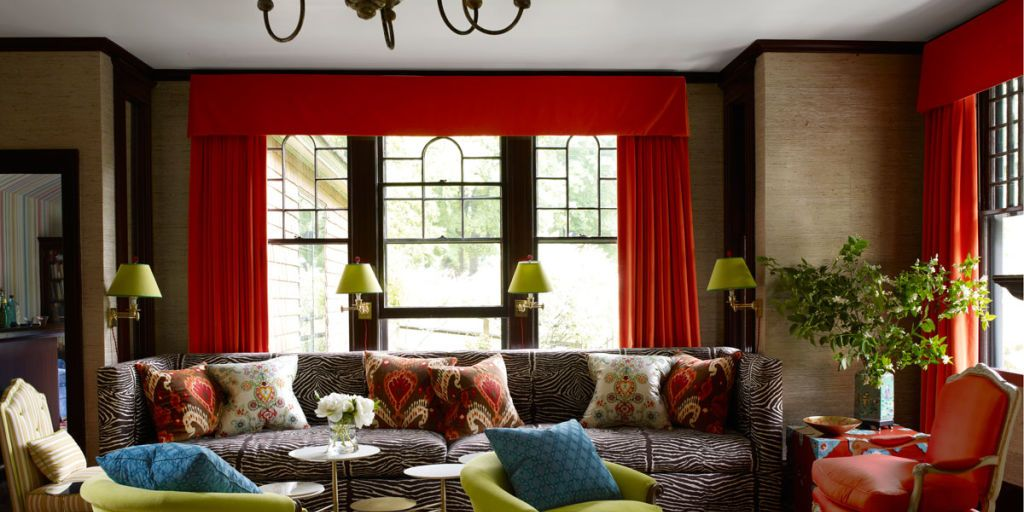Asked to update a beloved family home in tuxedo park new york designer jeffrey bilhuber fashions the perfect mix of old and new colorful and quirky