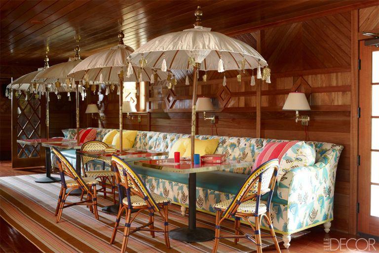 Jeffrey Bilhuber Tuxedo Park Home Decor With Pattern Mixing
