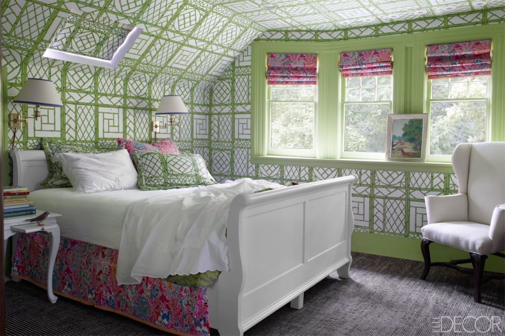 Green Paint Colors For Bedrooms Beauteous Best Green Rooms  Green Paint Colors And Decor Ideas Decorating Inspiration
