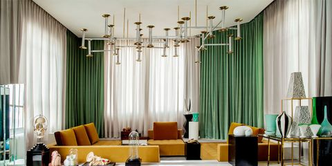 Interior design, Room, Couch, Interior design, Furniture, Coffee table, Living room, studio couch, Window treatment, Design,