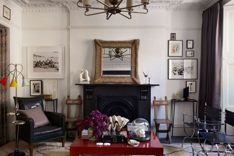 Fashion Editor Kim Hersov's Living Room