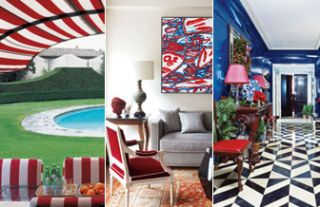 Red White and Blue Chic