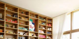 Room, Interior design, Wood, Furniture, Floor, Wall, Home, Flooring, Living room, Shelf,