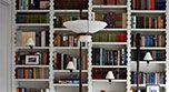 Product, Shelf, Property, Interior design, Shelving, Photograph, White, Wall, Publication, Line,