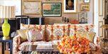 Brown, Yellow, Photograph, Room, Interior design, Flowerpot, Bouquet, Orange, Interior design, Cut flowers,