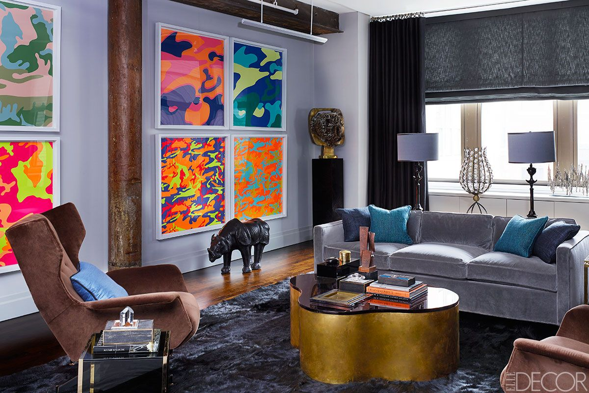 decor nyc design and decor stores we love meatpacking district Deep Focus: A Dramatic Manhattan Apartment