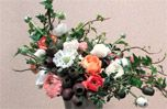 White, Petal, Pink, Bouquet, Christmas tree, Botany, World, Cut flowers, Flower Arranging, Christmas decoration,