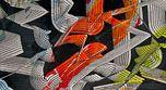 Photograph, White, Pattern, Orange, Carmine, Black, Grey, World, Athletic shoe, Space,