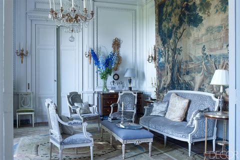 Blue, Room, Interior design, Furniture, Interior design, Chair, Home, Light fixture, Chandelier, Turquoise,