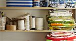 White, Shelving, Shelf, Food storage containers, Snapshot, Collection, Plastic, Paint, Pantry, Food storage,
