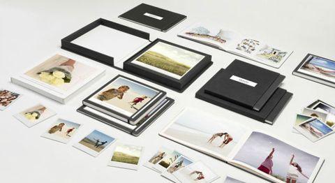 Custom photo books by Moleskin