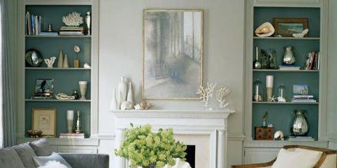 Room, Interior design, Living room, Home, Furniture, White, Wall, Interior design, Shelving, Shelf,