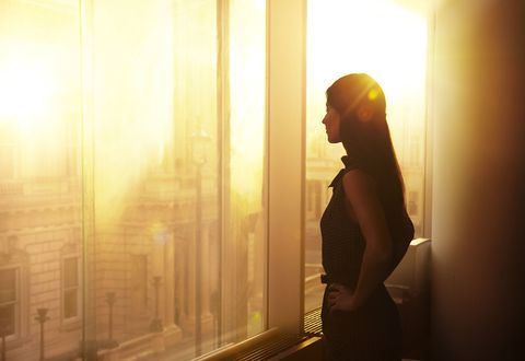 Glass cliff, woman at work