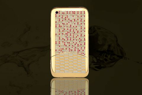 """Anita Mai Tan Premiere Queen iPhone 6&nbsp; Case, &nbsp;price upon request; <a href=""""http://algems.com/index.php/collections/phone-case-cover"""" target=""""_blank"""">algems.com</a>"""