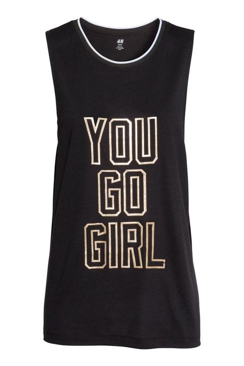 "H&amp;M Sports Tank Top, $15; <a href=""http://www.hm.com/us/product/29477?article=29477-C"">hm.com</a>      &nbsp;"