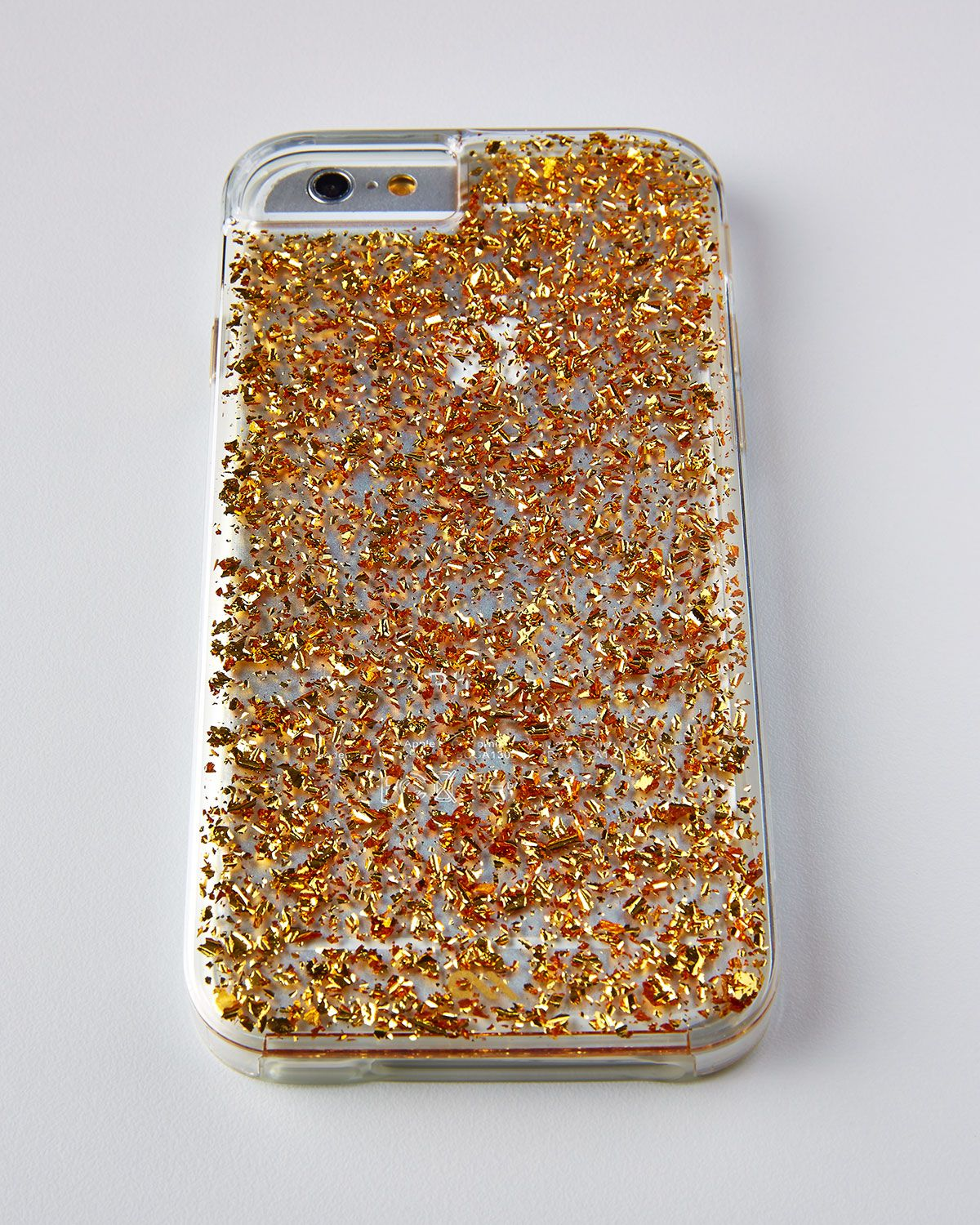 "Neiman Marcus 24K Gold iPhone Case, $50; <a href=""http://www.neimanmarcus.com/24-Kt-Gold-iPhone-6-Case/prod174680140/p.prod?eVar4=RR_OOS_PDP"" target=""_blank"">neimanmarcus.com</a>"